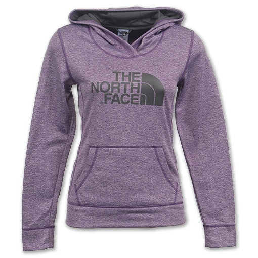 The North Face Women's Fave-Our-Ite Pullover Hoodie Grav Purple