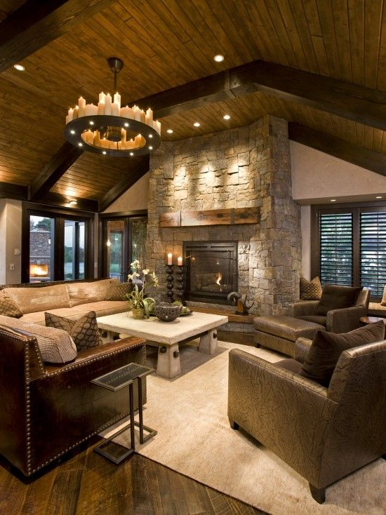 Cozy family room my home pinterest for Cozy family room