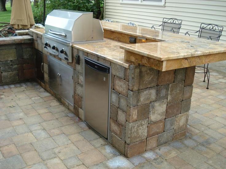 Custom Outdoor Kitchen Outdoor Kitchens Pinterest