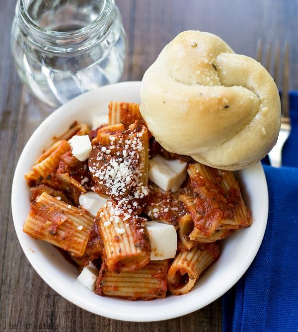 Eggplant and Tomato Pasta - Yummy summer pasta dish that uses seasonal ...