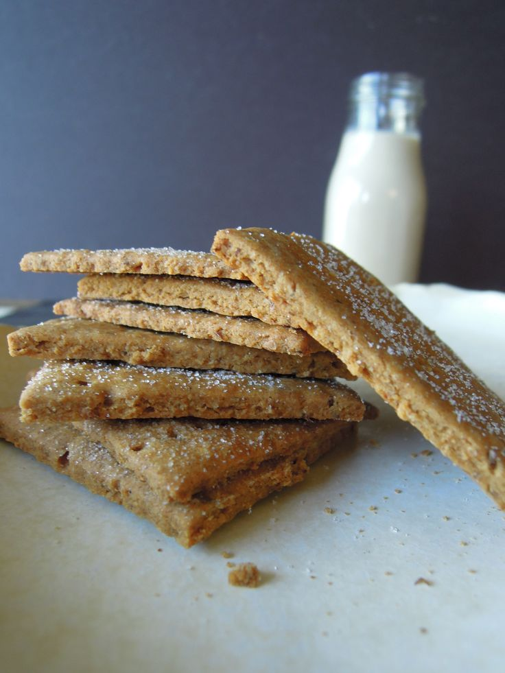 Gluten-Free, #Nut-Free, #Vegan Graham Crackers.