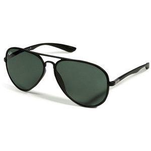 all black aviator sunglasses hewg  all black ray ban aviator