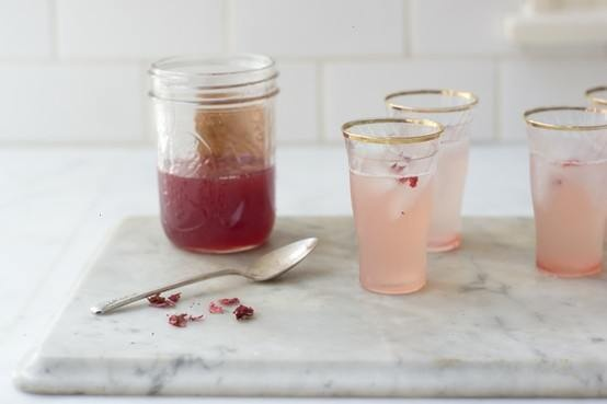 Rhubarb Rose Syrup   I'm a foodblogger   Pinterest