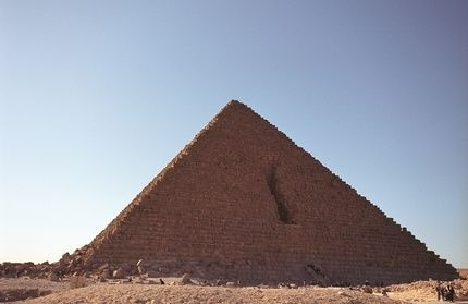 how to make a pyramid out of wood