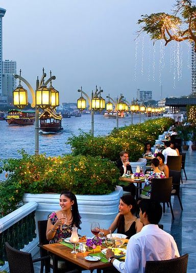 Mandarin Oriental, Bangkok, Thailand.