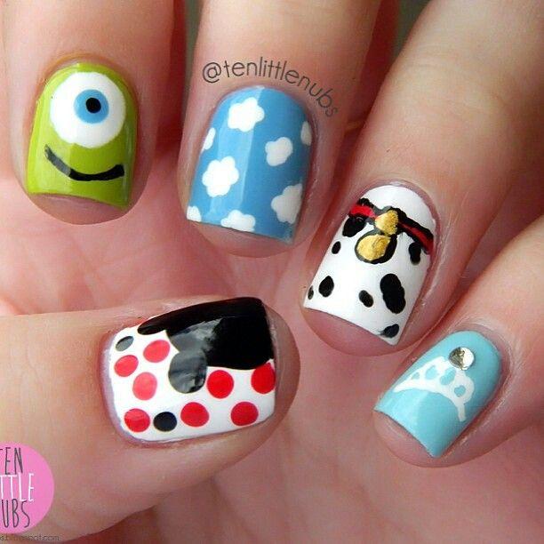 Disney inspired nail art diy disney inspired nail art view images gallery for gt disney inspired nails prinsesfo Image collections