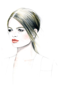 the gallery for gt fashion illustration sketches faces