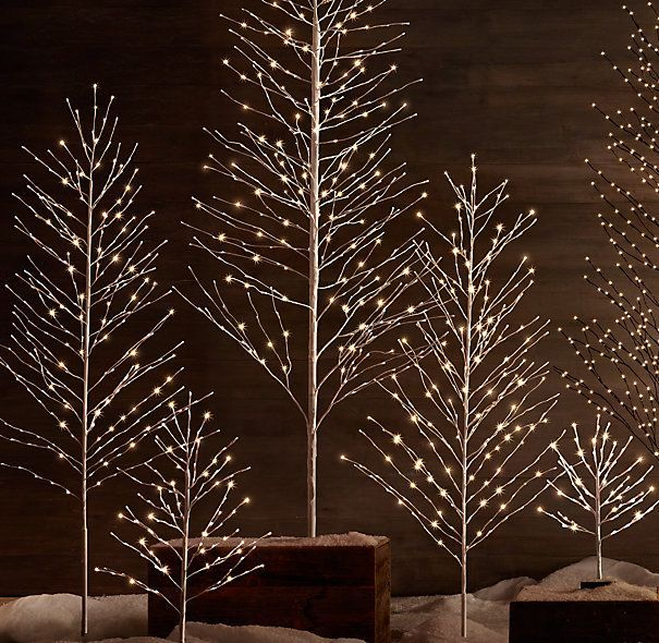 Starlit Trees from Restoration Hardware