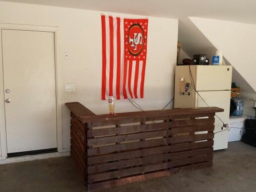 Homemade Pallet Bar Furniture Pinterest