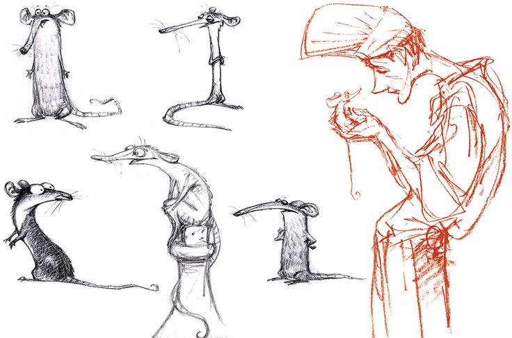Character Design Ratatouille : Peter de sève seve perfection pinterest
