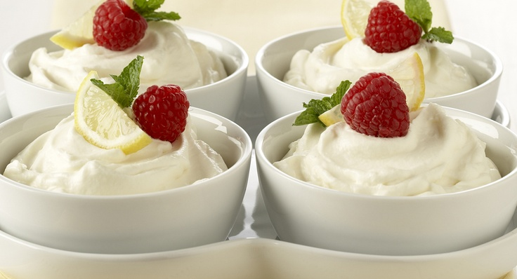 Easy Lemon Mousse: Light, luscious and lemony describes this easy-to ...