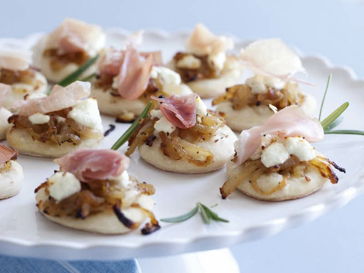 ... Caramelized Onions, Goat Cheese, and Prosciutto recipe from Giada De