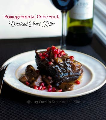 Pomegranate Cabernet Braised Short Ribs   Foodie   Pinterest
