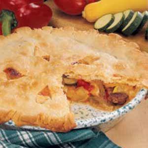 Farmer's Market Sausage Pie | Recipe