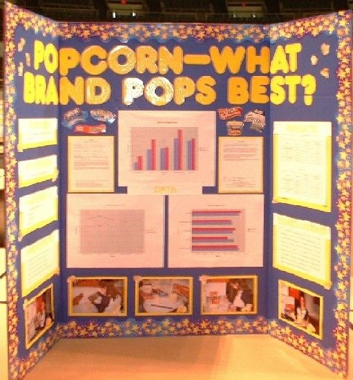 What Popcorn Pops Best Display Board