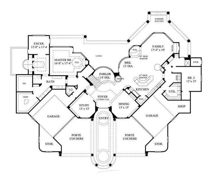 Porte cochere dream home pinterest for House plans with porte cochere