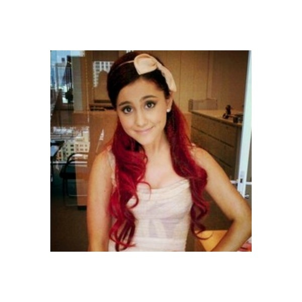 Ariana Grande icon by Taylor ♥ ❤ liked on Polyvore