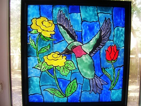 Pin by suzys sitcom on cm painting pinterest for Can i paint glass with acrylic paint