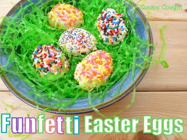 Funfetti Easter Egg Rice Krispie Treats | Easter/Springtime | Pintere ...