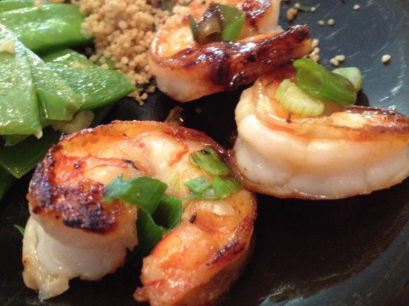 Caribbean Food Recipes: Samurai Pan Seared Shrimp