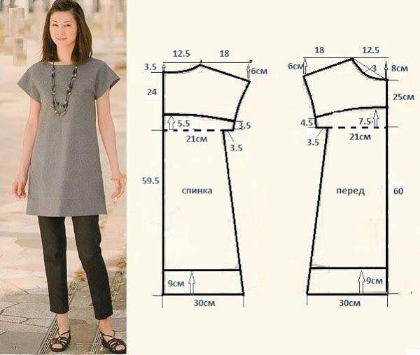 Сшить платье своими руками простое