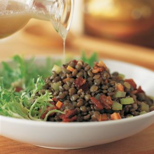 Lentil, Bacon and Frisée Salad | Williams-Sonoma | Foods | Pinterest