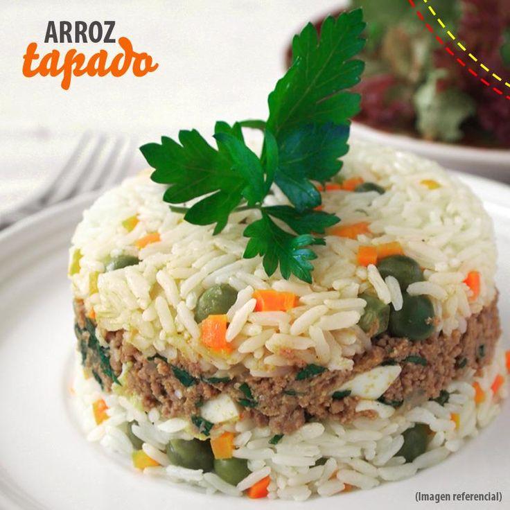 Arroz Tapado...Empieza la semana con este delicioso plato!!!