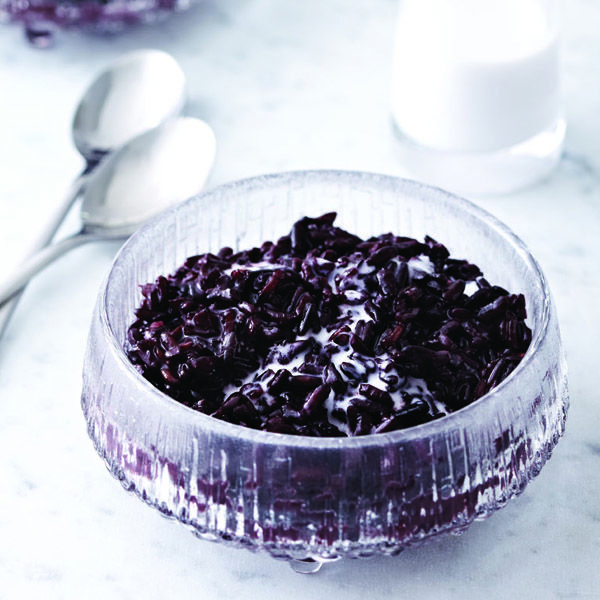 Sexy (black) rice pudding recipe - absolutely divine!