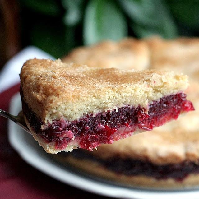 Cranberry Shortbread Cake | cooking | Pinterest