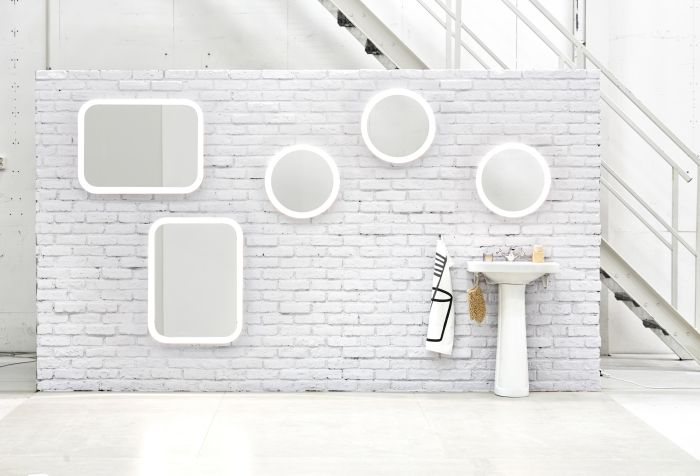 Storjorm mirror illuminates your face from every angle so for Mirrors ikea usa