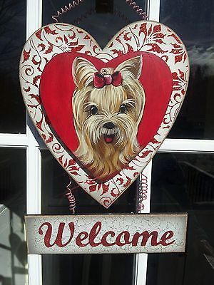 valentine's day door art