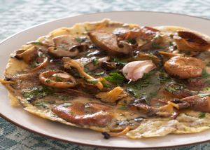 Rif Mountain Omelet with Wild Mushrooms with California Olive Ranch ...
