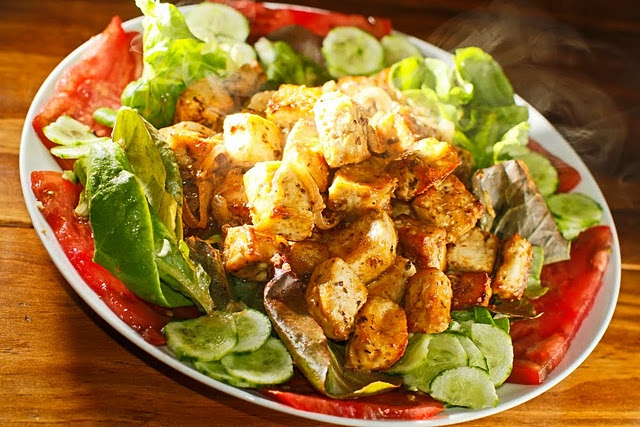 Brown Rice Bowl With Lemongrass, Tofu And Cashews Recipes — Dishmaps