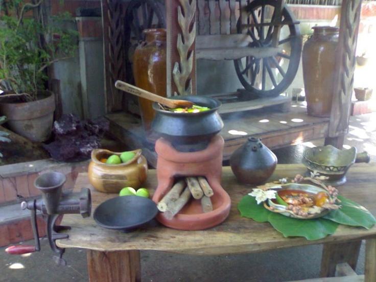 Old Filipino Kitchen Style Beautiful Philippines Pinterest