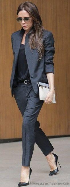 Street Style   Victoria Beckham.