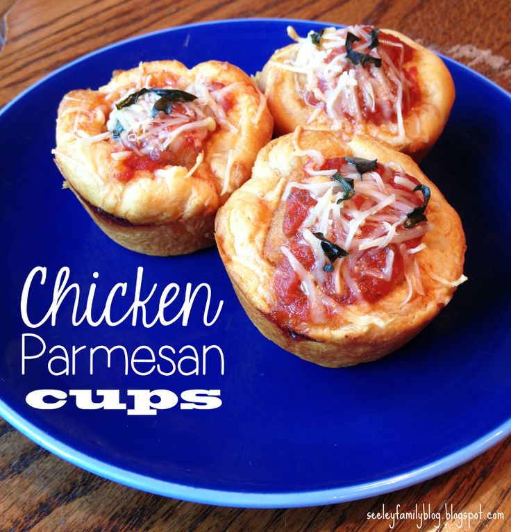 "Chicken Parmesan Cups | more than 9 to 5: my life as ""Mom"""