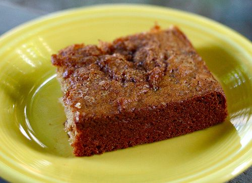 "Use Your Rhubarb"" Cake - Playing House 