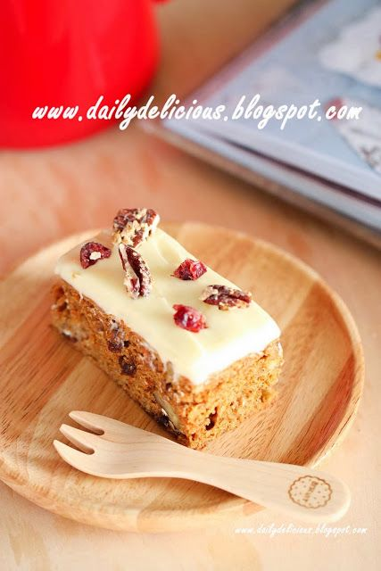 ... thai: Low fat carrot cake: Delicious carrot cake with less fat
