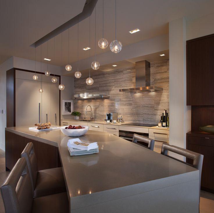 gray interior design kitchen island hamilton penthouse vancouver