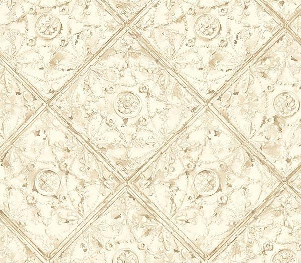 Ceiling tin tile white wallpaper for White tile wallpaper