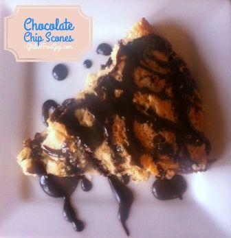 Gluten Free Chocolate Chip Scones | Gluten Free Sweets | Pinterest