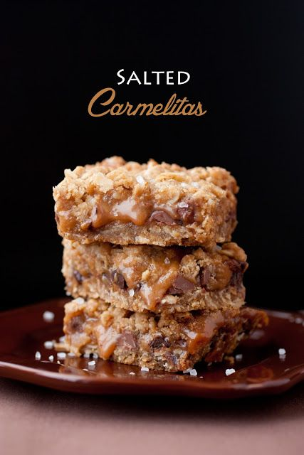 Salted Carmelitas - Cooking Classy