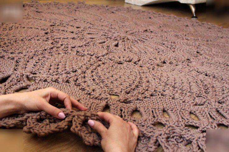 Вязание ковров крючком все 598