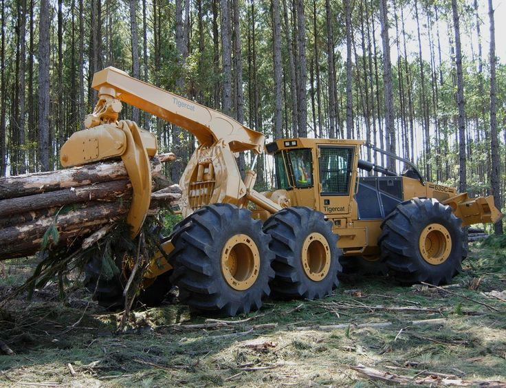 Tigercat 635C Skidder | Forestry Heavy Equipment | Pinterest