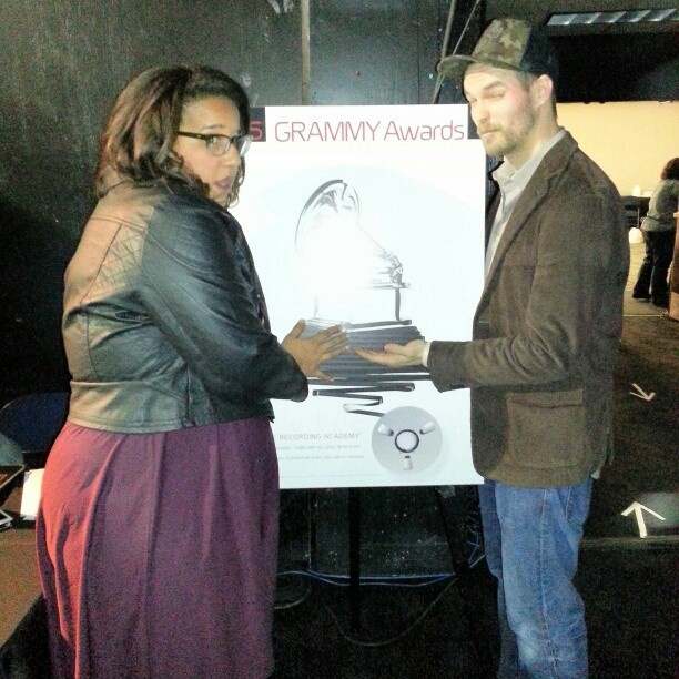 It's Alabama Shakes backstage! #GrammyNoms - @thegrammys- #webstagram