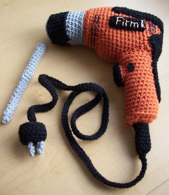 Carpenters Tools...PDF Crochet Pattern by KTBdesigns on Etsy