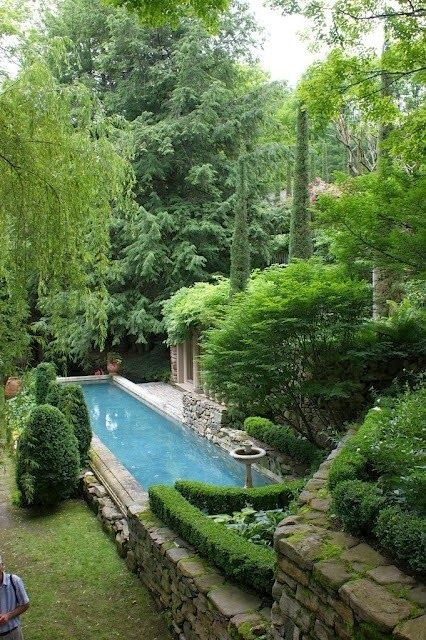 Beautiful Backyard Oasis Arq Pools Pinterest