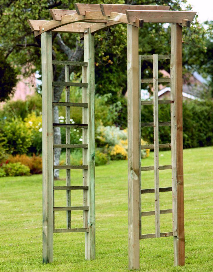 Garden arch vertical gardening trellises pinterest - Garden arches design ideas ...