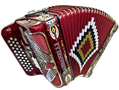 how to play button accordion norteno