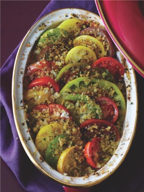 Tomato Gratin | Karen's Thanksgiving Side Dishes | Pinterest